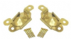 CHEVAL MIRROR MOVEMENTS SWIVEL HINGE DRESSING TABLE Brass. 1-100 pairs W/Screws